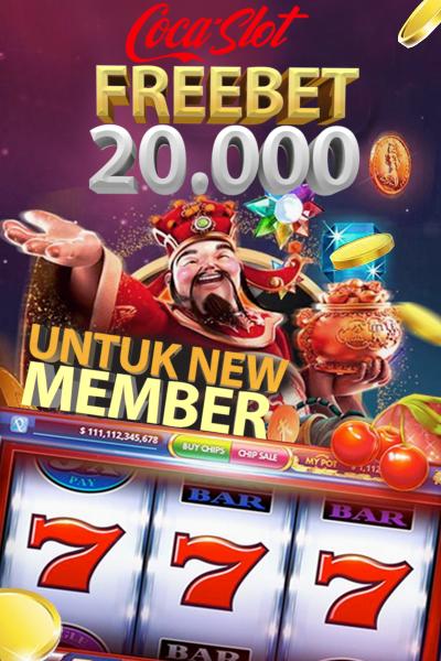COCASLOT - Freebet Slot Gratis Rp. 20.000 Tanpa Deposit